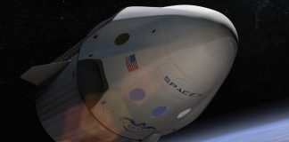 SpaceX has tested the evacuation of the crew of the spacecraft Crew Dragon