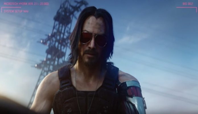 The game is Cyberpunk 2077 moved