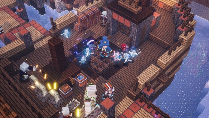 Microsoft has released a hybrid of Minecraft and Diablo