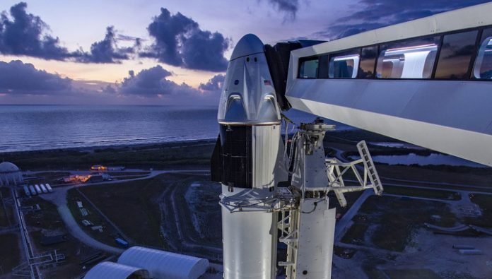 The first ever rocket launch SpaceX crew will show online