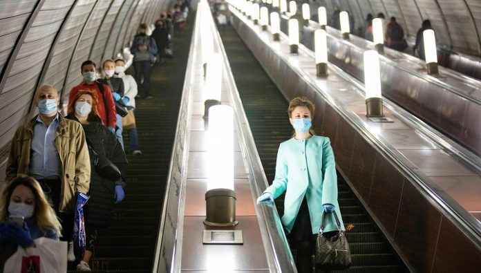 The startup caught 88% of Muscovites in the wrong wearing masks