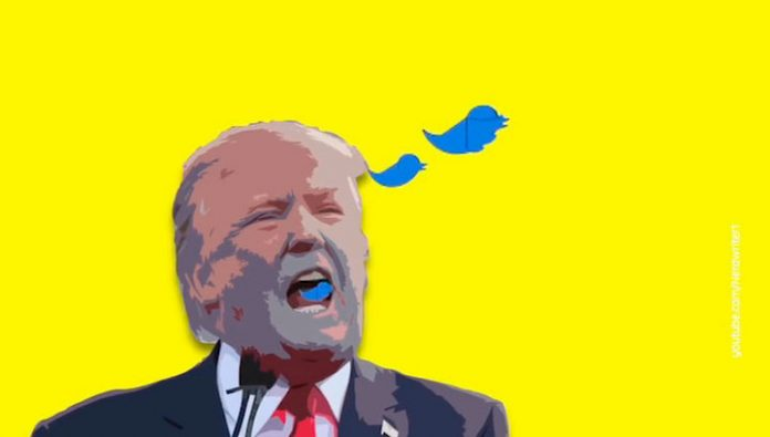 Twitter reacted to the decree trump on social networks
