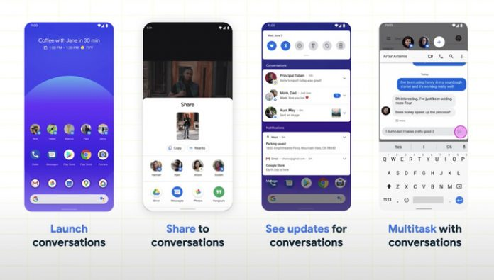 Google showed how Android 11 will become more social