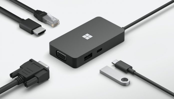 Hub Microsoft will allow you to connect to a Windows laptop almost anything