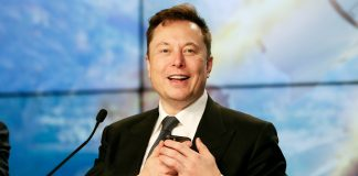 Musk laughed at the deed Bezos