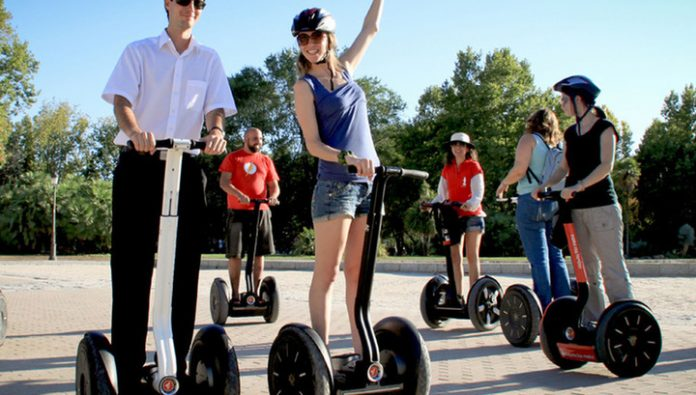 Production collapses Segway electric scooter