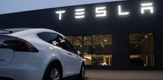Tesla's shares reached record high on the news about sales in China