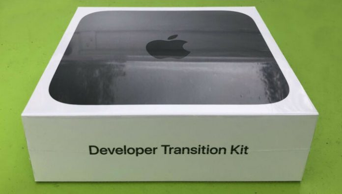The developers have issued the first computers with its own Apple chips