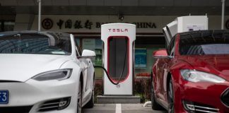 The number of charging stations for electric cars increased by 60%