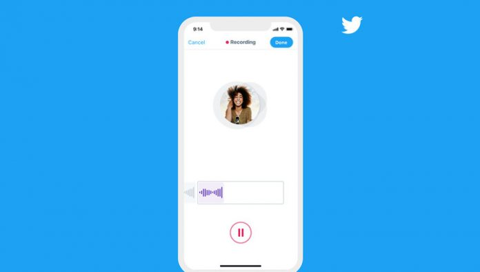 Twitter introduces voice messages