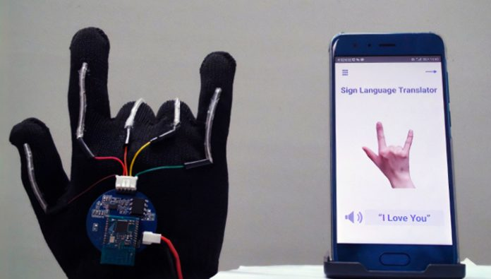 Smart glove will translate sign language with 99% accuracy